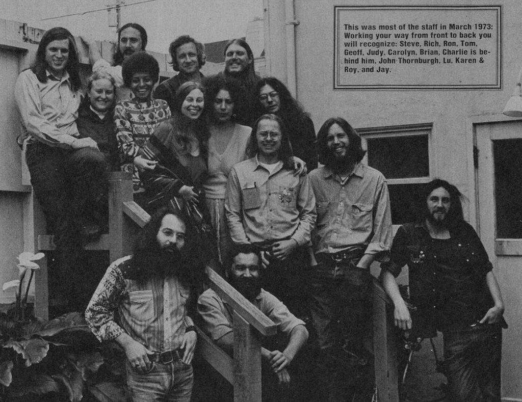 huckleberry house staff circa 1973 - alternative family services