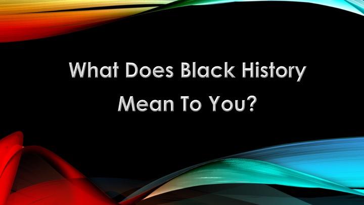 AFS Black History Month Celebration 2021